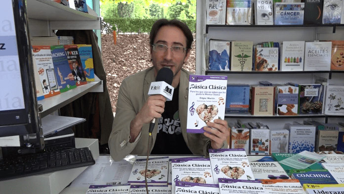 Edgar Martín, autor del GuíaBurros: Música clásica en la FLM18